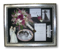 Wedding Bouquet and Memories Preserved